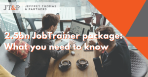 $2.5bn Jobtrainer Package What You Need To Know