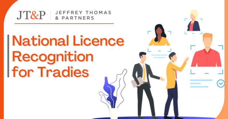 National Licence Recognition For Tradies