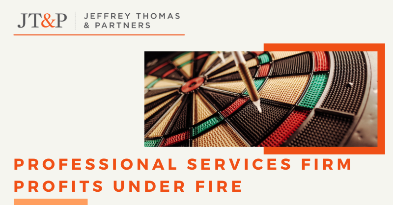 Professional Services Firm Profits Under Fire